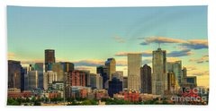 The Mile High City Hand Towel