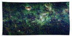 The Milky Way Hand Towel by Adam Romanowicz