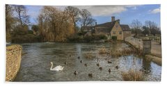 The Millhouse At Fairford Hand Towel
