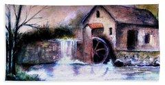 The Millstream Hand Towel by Hazel Holland