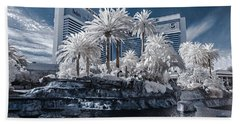 The Mirage In Infrared 2 Bath Towel