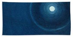The Moon II Hand Towel