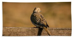 The Morning Dove Bath Towel