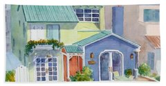 The Most Colorful Home In Belmont Shore Hand Towel