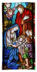 The Nativity Hand Towel