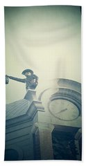 Hand Towel featuring the photograph The Night Watchman by Trish Mistric