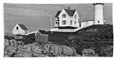 The Nubble - Bw Hand Towel