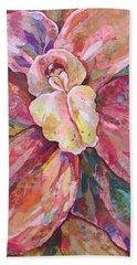 The Orchid Hand Towel by Shadia Derbyshire