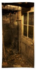 The Old Cellar Door Bath Towel by Dan Stone