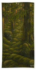The Old Forest Bath Towel