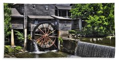The Old Mill Restaurant Bath Towel