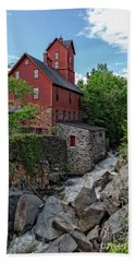 The Old Red Mill Jericho Vermont Hand Towel