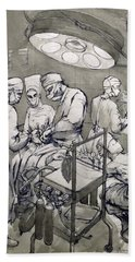 The Operation Theatre, 1966 Hand Towel
