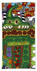 The Other Side Of The Garden  Bath Towel