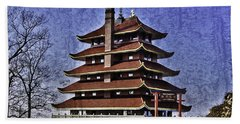 The Pagoda Hand Towel