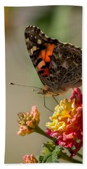 The Painted Lady Bath Towel