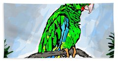 The Parrot Hand Towel
