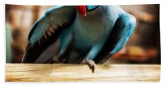 The Parrot Pose Hand Towel