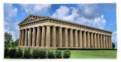 The Parthenon Bath Towel