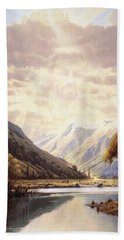 The Path Of Life Hand Towel