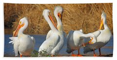 The Pelican Gang Bath Towel