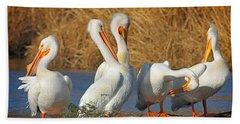 The Pelican Gang Bath Towel