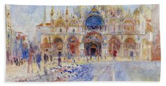 The Piazza San Marco Hand Towel