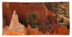 The Popesunrise Point Bryce Canyon National Park Hand Towel