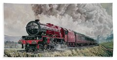 The Princess Elizabeth Storms North In All Weathers Bath Towel