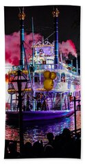 The Mark Twain Disneyland Steamboat  Hand Towel