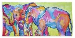 The Protectors Bath Towel by Ellen Levinson