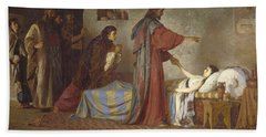 The Raising Of Jairus' Daughter Hand Towel