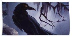 The Raven Hand Towel