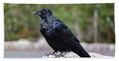 The Raven Bath Towel