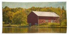 The Red Barn Hand Towel