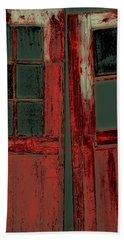The Red Doors Hand Towel