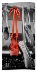 The Red Slipper Hand Towel