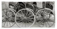 The Rickshaws Bath Towel