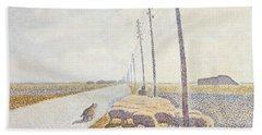 The Road To Nieuport Bath Towel