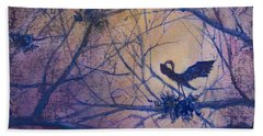 The Rookery Revisited Bath Towel