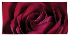 The Rose Hand Towel by James Roemmling