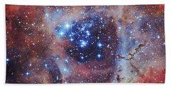 The Rosette Nebula Hand Towel