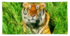 The Royal Bengal Tiger Bath Towel