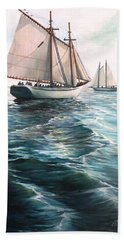 The Schooners Bath Towel