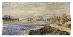 The Seine In Argenteuil Hand Towel