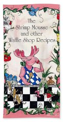 The Shrimp Moose And Other Waffle Shop Recipes Cookbook Calvary Church Memphis Tn Hand Towel