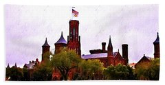 The Smithsonian Hand Towel by Bill Cannon