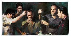 The Sopranos Bath Towel