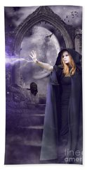 The Spell Is Cast Hand Towel by Linda Lees