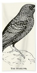 The Starling Hand Towel by English School